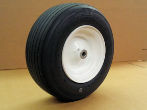 16 inch ribbed tire