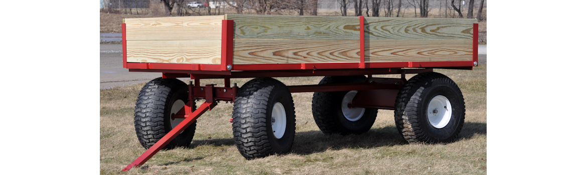 twin axle ATV wagon