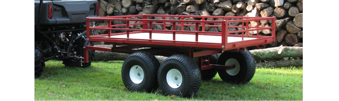 UTV Off Road Utility Vehicle Trailers
