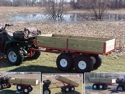 Atv Trailers Heavy Duty Tandem Axle Model 7550atv By