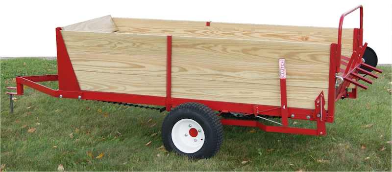25 bushel manure spreader for atv