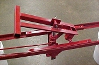 3010 Hand Operated Hydraulic Dump for Wagons and Trailers.