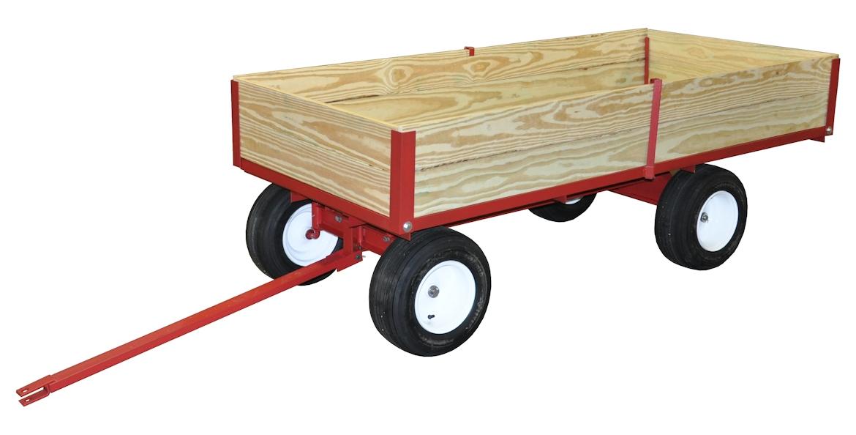1 Ton Capacity Utility Dump Atv Wagon Model 7300 By Country Atv